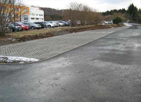 Kliniken Herzberg und Osterode GmbH Parkplatzbau